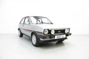 A Stunning Mk1 Ford Fiesta XR2 with Full History and Just 74,903 Miles from New.