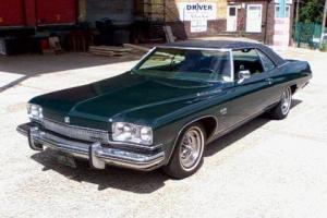 Buick Le-sabre custom coupe 1973