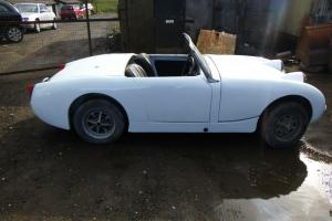 Austin Frogeye Sprite Classic Car - unfinished project