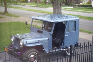 1956 Willys Jeep Dispatcher / Delivery Vehicle Photo