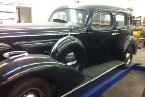 1936 BUICK CENTURY SEDAN--MODEL 61--VET ORIGINAL--LO MILES