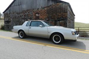 1987 Buick T Type NO RESERVE Regal Turbo / Grand National / GNX Rare Show 3.8