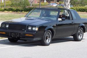 1987 BUICK GRAND NATIONAL-ORIGINAL ONE OWNER DOCUMENTED 82K MILES WITH T TOPS