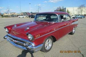 1957 Chevrolet Hard Top Bel Air Beautiful Car 4 speed $1,000's spent
