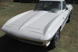 1965 Corvette Barn Find - Factory A/C 365 Hp 4-Sp Arizona Car
