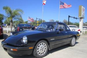 1989 Alfa Romeo Spider Quadrifoglio Verde, hard top/softop, CLEAN!!