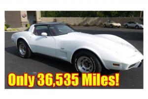 1979 Corvette Coupe ONLY 36,535 MILES! 350 L48 3 Speed Auto DRIVES EXCELLENT!