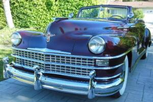 1948 CHRYSLER NEW YORKER HIGHLANDER CONVERTIBLE, VERY RARE, RESTORED