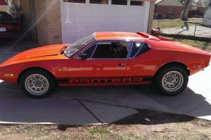 1971 Detomaso Pantera 29,000 miles second owner, great driver
