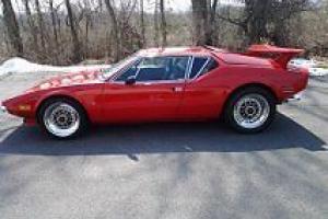 1972 DeTomaso Pantera Base 5.8L