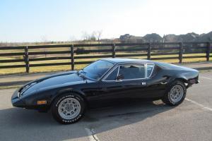 1973 DE TOMASO PANTERA L BALCK BLACK CALIFORNIA CAR 5 SPEED RARE Photo