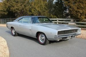 "REAL ""J"" HEMI / 4-Speed Charger R/T w/ Keisler 5-Speed, AA1 Silver, 14 yr owner."