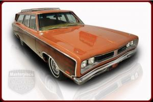 69 Dodge Coronet 500 Station Wagon Original 383/330 HP Original Automatic