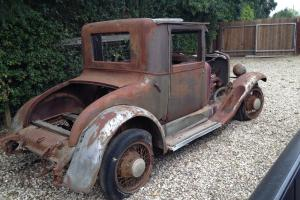 1927 28 Essex DURANT coupe hot rod project rat, 32 34 30
