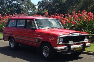 Jeep Cherokee Wagoneer Truck V8 Classic in Paddington, NSW