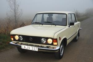 Soviet-era Classic: 1988 Polski-Fiat 125p Sedan. High-Roller Stasi Spy Car