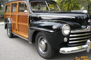 1948 Ford Super Deluxe Woody Wagon H&H Flathead V8 Columbia Stunning Restoration