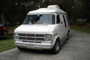 GMC Camper/Conversion Van White 1983