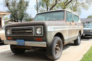 1977 International Scout II 4X4 Base Sport Utility 2-Door 5.6L 1 owner