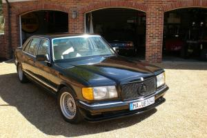 1985 Mercedes 500SEL LORINSER BODY KIT Springs BBS Wheels European model Not amg