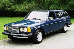 1984 MERC. BENZ 300-D TURBO DIESEL ST.WAGON ex.cond. runs & looks like new. Rare
