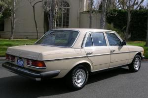 1983 Mercedes-Benz 300D Turbo - 77k miles - Spotless Original - CA car.