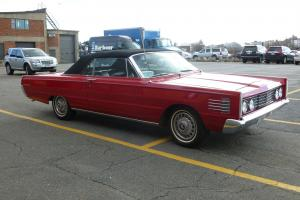 1965 Mercury Monterey Convertible - Very Good Condition - Excellent Driver