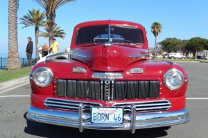1946 Mercury Coupe. A beautifully restored rare CA car.