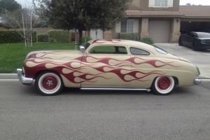1950 Mercury Chopped Coupe.