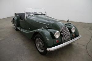 1958 Morgan + 4 Roadster,british racing green,wire wheels,wood dash, presentable