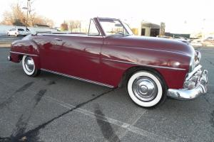 '51 Plymouth Cranbrook CONVERTIBLE. Only 20,732 miles. Power Top. NICE CAR!