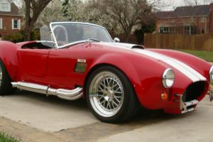 Shelby Cobra - Backdraft 427 Roush, TKO600,550HP only 400 miles - Like New!