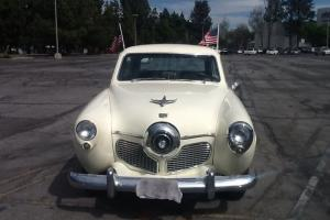 1951 STUDEBAKER COMMANDER BULLET NOSE AUTOMATIC RARE NO RESERV