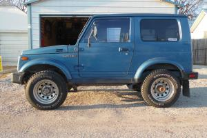 1986 suzuki samurai tintop hardtop tin hard top 4x4 4wd 4 wheel drive