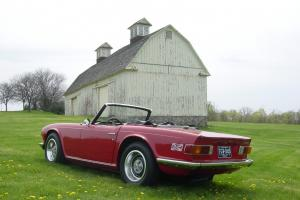1973 Triumph TR6 Restored Photo