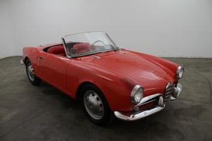 1960 Alfa Romeo Giulietta Spider, red, excellent undercarriage, very collectible