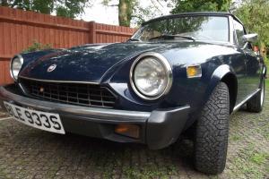 Fiat 124 Spider Pininfarina Convertible 1978