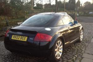 2002 AUDI TT 1.8 QUATTRO,BLACK WITH BLACK LEATHER