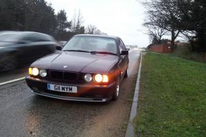 BMW 3.8 E34 M5 UK RHD 5 Speed , Daytona Violet , Silver Alcantara