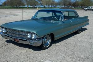 1962 Cadillac Sedan DeVille 29k original miles clean