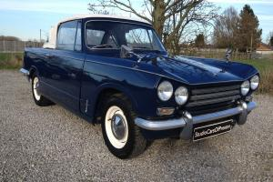 1971 Triumph Vitesse Convertible in excellent condition throughout.