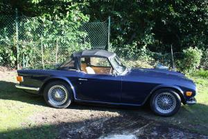 Triumph TR6 CP car..............little work needed ......