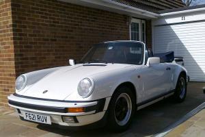 Porsche 911 3.2 Cabriolet Sport 1989 Photo