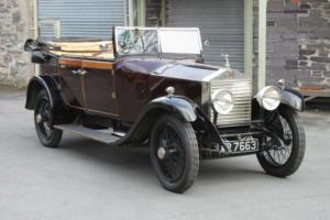 1924 Rolls-Royce Barker Cabriolet GA71 Photo