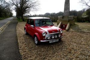 Rover Mini Cooper Sport in Red Photo