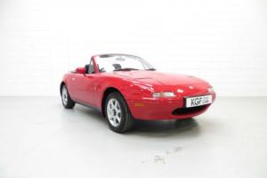 A Pristine UK Mk1 Mazda MX5 with Just 13,788 Miles from New. Photo