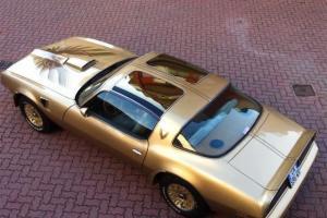 Rare Pontiac Trans am 1978 gold special edition Y88