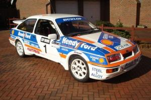 EX WORKS SIERRA COSWORTH GROUP A RALLY CAR Photo