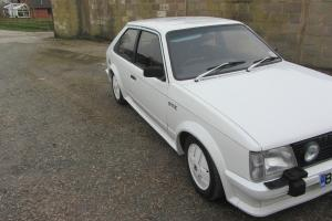Mk1 Vauxhall Astra GTE 3dr 1984 sunroof - superb condition Photo