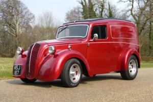 morris 8 van hotrod v8 custom car street rod hot rod v8 classic car